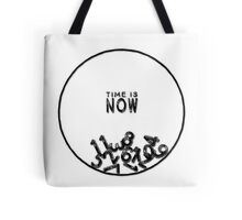 Time is Now Clock Tote Bag