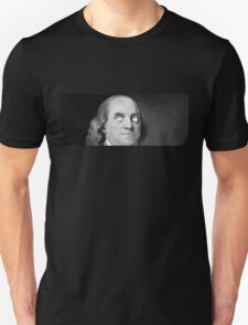 BEMJAMIN FRANKLIN WHITED OUT EYES T-Shirt