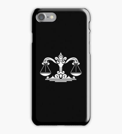 Libra White iPhone case iPhone Case/Skin