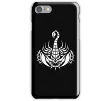 Scorpion White iPhone case iPhone Case/Skin
