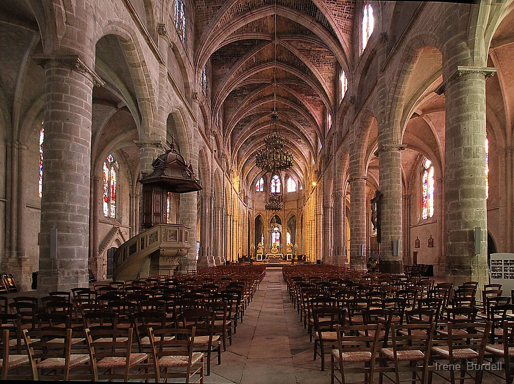 Bazas Cathedral by Irene  Burdell