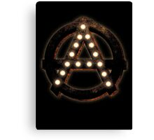 Marquee Anarchist Canvas Print