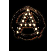 Marquee Anarchist Photographic Print