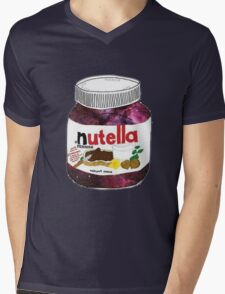 GALAXY NUTELLA Mens V-Neck T-Shirt