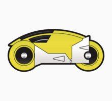 TRON Classic Lightcycle (Yellow) by Eozen