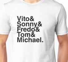 Vito & Sonny & Fredo & Tom & Michael Unisex T-Shirt