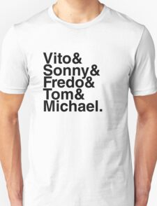 Vito & Sonny & Fredo & Tom & Michael T-Shirt