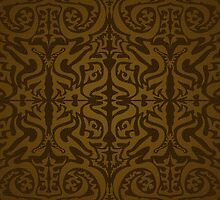 Etnic Pattern Brown by elangkarosingo