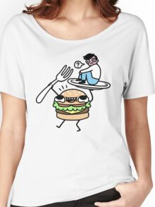 Dinner Is Served! Women's Relaxed Fit T-Shirt