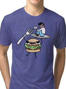 Dinner Is Served! Tri-blend T-Shirt