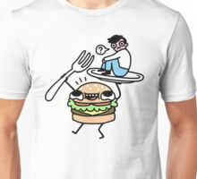 Dinner Is Served! Unisex T-Shirt