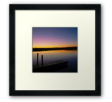Dawn Daybreak Framed Print