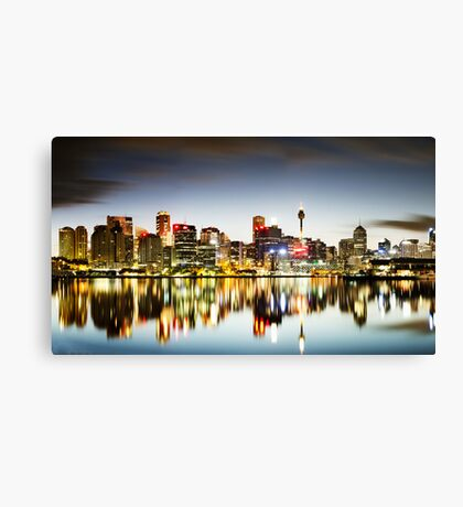 The Luminous City Canvas Print