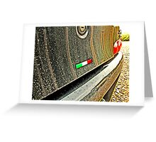 'Italian at Heart' Greeting Card
