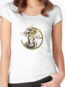 Warren Salutes Tee Women's Fitted Scoop T-Shirt