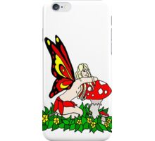 Sassy Faerie and Mushrooms iPhone Case/Skin