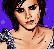 Emma Watson  by Imran Nalla