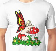 Sassy Faerie and Mushrooms Unisex T-Shirt