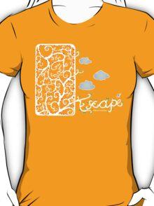 Escape (for dark t-shirt colours) T-Shirt