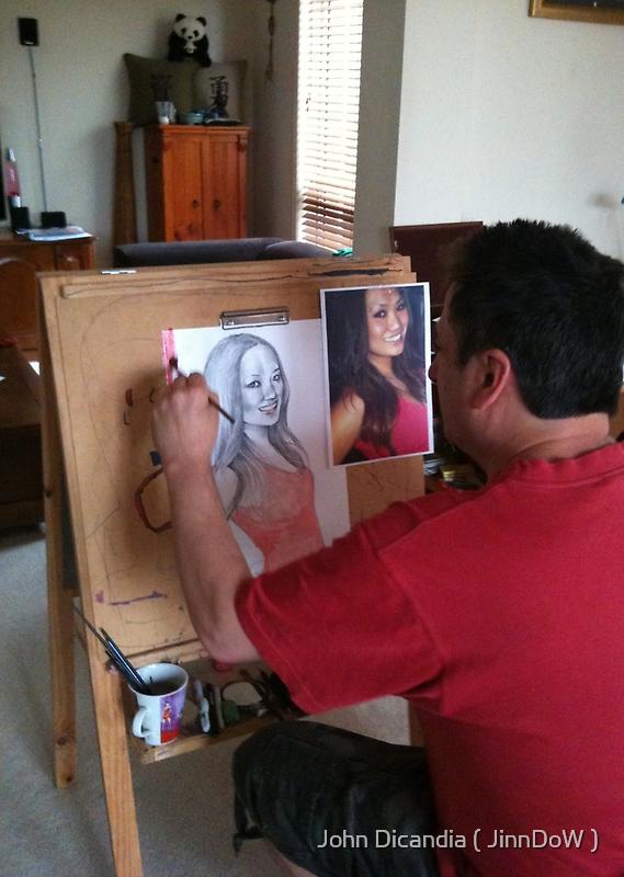 Me  ( 5/11/2011 )  by John Dicandia  ( JinnDoW )