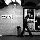 U-Bahnhof Sophie-Charlotte-Platz, Berlin by Nick Coates