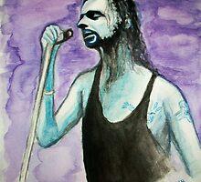 Portrait of Dave Gahan - DM :))  by karina73020
