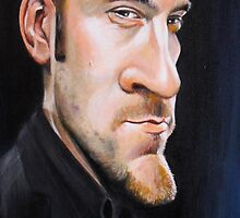 Derren Brown Caricature by Dan Johnson
