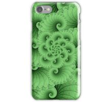 Lily Pad Spiral iPhone Case/Skin