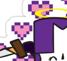 Purpley Knightey Sticker