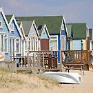 Beach Huts, Mudeford by Andrew Duke