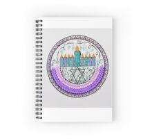 Menorah Spiral Notebook