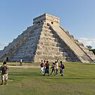 Chichen Itza (Colour) by David Sundstrom