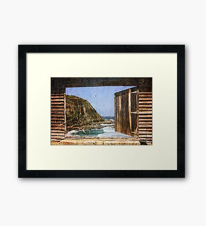 Yearning For The Sea Framed Print