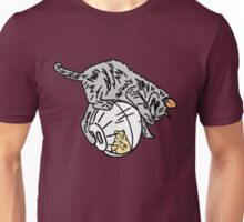 Playful Kitten on a Hamster Ball Unisex T-Shirt