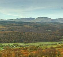 The Rusland Valley..A Panorama by Jamie  Green