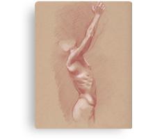 Reaching Male Canvas Print
