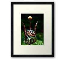 Gifts to the gods_two Framed Print