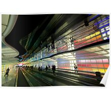 the neon filled united terminal Poster