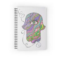 Hamsa/8 - Rabbi Spiral Notebook