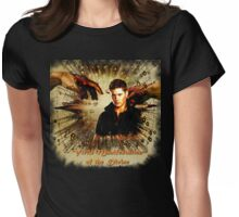 Dean Winchester - Virlle manifestation of the divine Womens Fitted T-Shirt