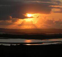 River Moy Sunset by Éilis  Finnerty Warren