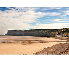 The Beach - Saltburn. Photographic Print