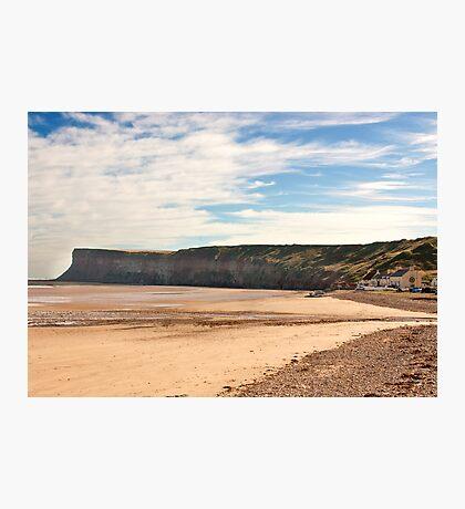 The Beach - Saltburn. Photographic Print