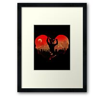 Devil in Kitchen Framed Print