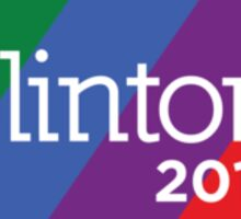 Hillary Clinton 2016 Pride - Pennsylvania Sticker