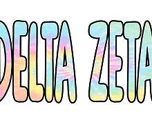 Delta Zeta Sorority Sticker by indianastickies