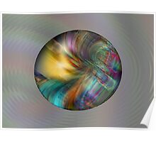 Hologram Abstract  (G0498) Poster