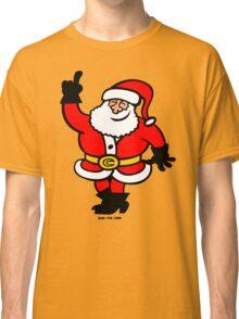 Santa Claus Celebrating Classic T-Shirt