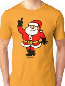 Santa Claus Celebrating Unisex T-Shirt