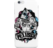 PELUSSJE as Strong Macho with Pyramid Head iPhone Case/Skin